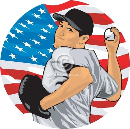 Baseball Pitcher 05