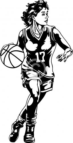 Basketball Girl 02