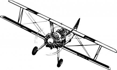 Biplane 01