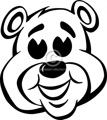 Bear Face 01