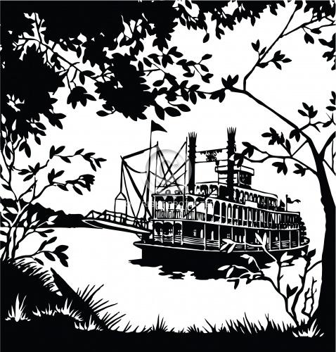 Riverboat Scene 01
