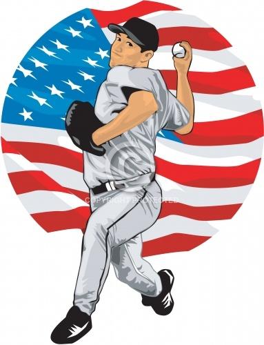 Baseball Pitcher 04