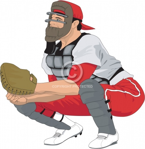 Baseball Catcher 01