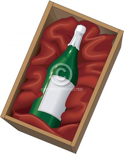 Wine Bottle 02