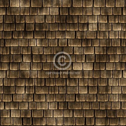 Roofing - Wood Shingles 01