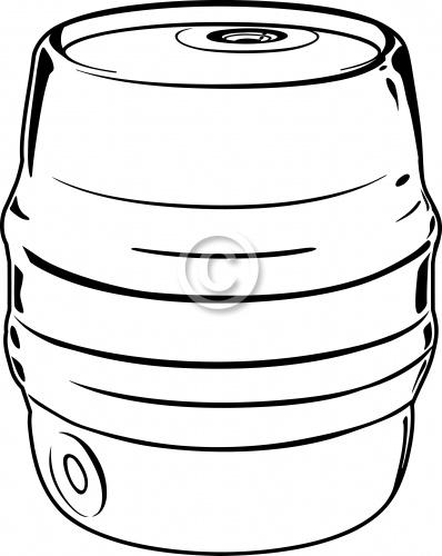 Beer Keg 01
