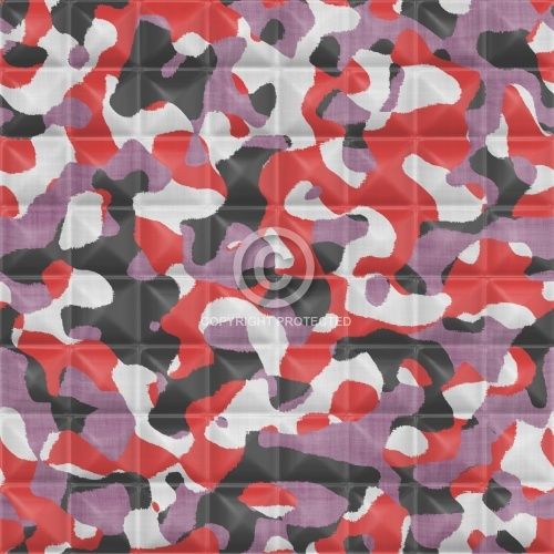 Quilted Camouflage 07