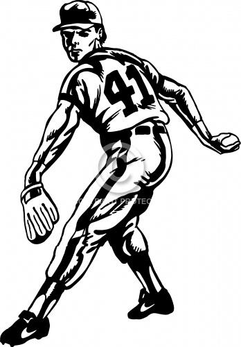 Baseball Pitcher 02