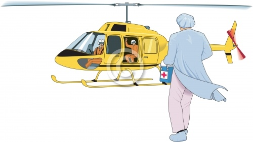 Helicopter Organ Transport 01