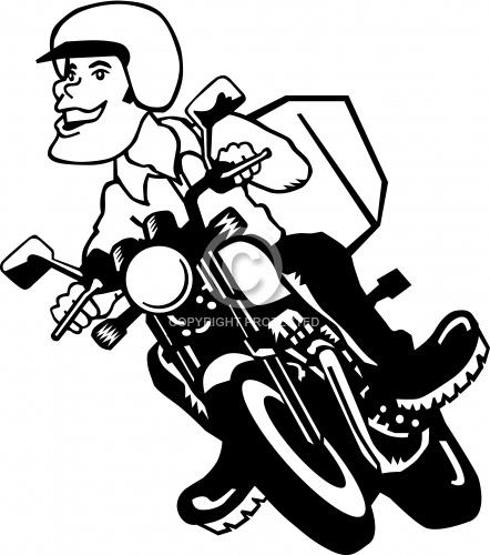 Motorcycle Rider 01