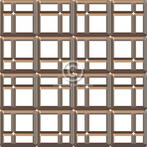Metalized Block 12