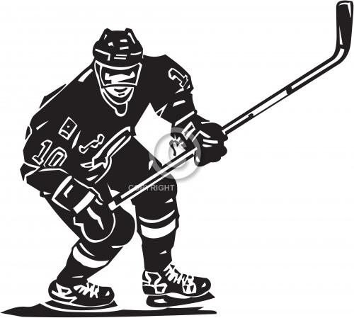 Hockey Player 01