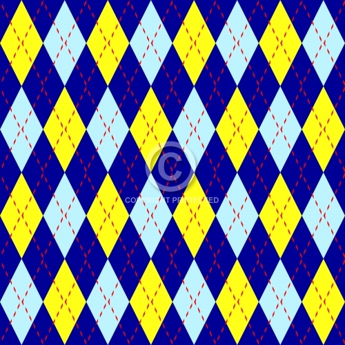 Argyle Fabric 02
