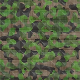 Quilted Camouflage 01
