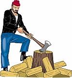 Chopping Wood 01