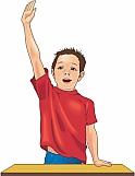 Student Raising Hand 01