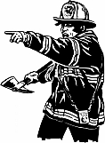 Fireman with Axe 01
