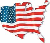 U.S. Flag Map 02