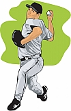 Baseball Pitcher 03