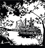Riverboat Scene 01
