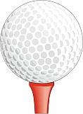 Golf Ball on Tee 01