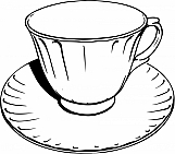 Cup and Saucer 04