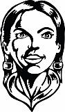 Native American Girl 01