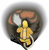 Firefighter Attacking Fire 02