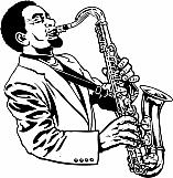 Saxophone Player 01