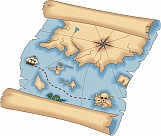 Pirate Treasure Map 01