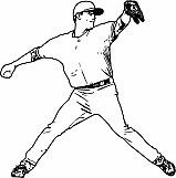 Baseball Fielder 02