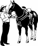 Horse and Cowboy 01