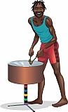 Jamaican Drummer 01