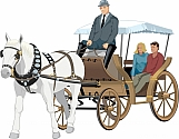 Horse Drawn Carriage 01