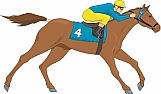 Race Horse 01