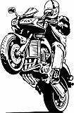 Motorcycle Wheelie 01