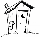 Cartoon Outhouse 01