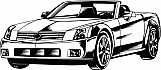 Luxury Convertible Car 01