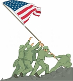 Iwo Jima Memorial 01