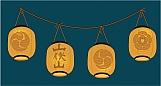 Japanese Lanterns 01