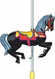 Carousel Horse 02