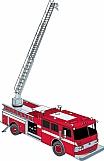 Fire Ladder Truck 01