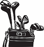 Golf Clubs and Bag 01