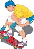 Skateboarder 01