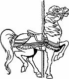 Carousel Horse 03