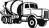 Cement Truck 01