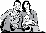 Couple with Infant 02