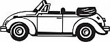 VW Bug Convertible 01