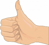 Thumbs Up Sign 01