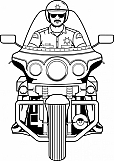 Motorcycle Cop 01